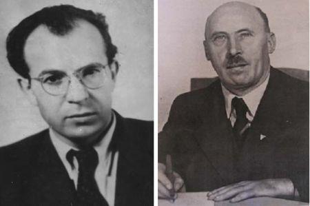 Gustáv Husák a Ján Ursíny